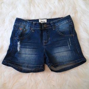 Hudson girls jean shorts size 12